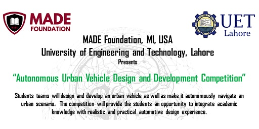 MADE-UET: Autonomous Urban Vehicle Design Competition 2020