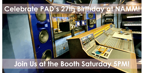 Celebrate our 27 years serving the Pro Audio community