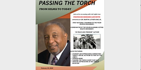 PASSING THE TORCH - From Selma to Today tickets