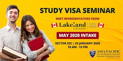 Study Visa Seminar for 2020 Intake