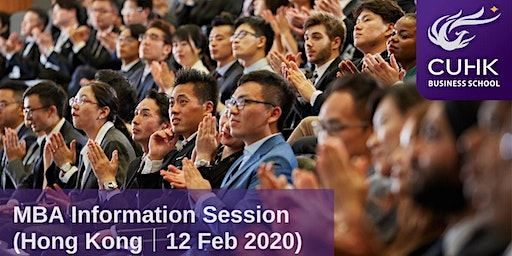 CUHK MBA Information Session in Hong Kong