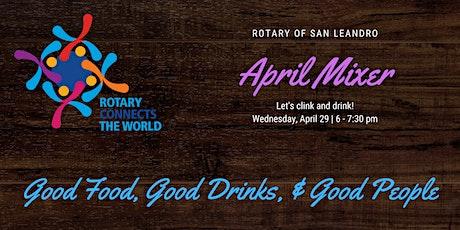 San Leandro Rotary Social Mixer tickets
