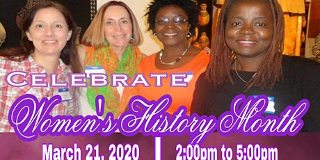 1st Annual International Women's History Month  tickets