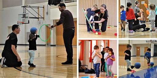 Free Sportball Day for Kids 16mos-6yrs @The Gym