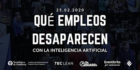#Onboard | Qué empleos desaparecen con la Inteligencia Artificial boletos