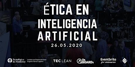 #Onboard | Ética en Inteligencia Artificial boletos
