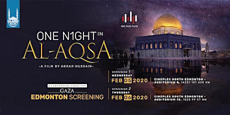 One Night in Al-Aqsa Film Screening · Edmonton (North) tickets