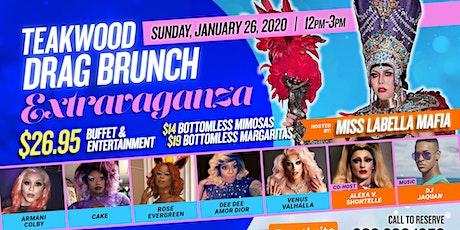 Teakwood drag Brunch Extravaganza 01/26/20 tickets