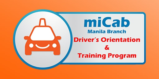 Micab Manila - Driver Orientation and Training Program