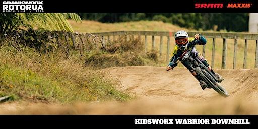 Kidsworx Warrior Downhill Race - Crankworx Rotorua 2020