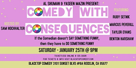 Comedy with Consequences tickets