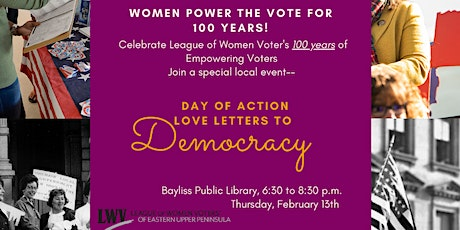 Day of Action: 100 years of Women Power the Vote tickets