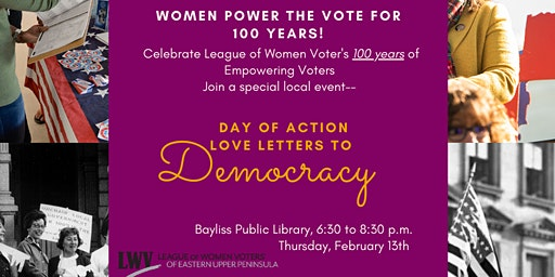 Day of Action: 100 years of Women Power the Vote