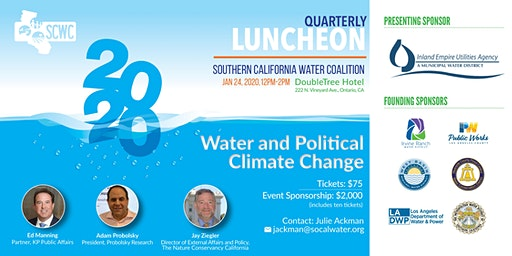 Southern California Water Coalition Quarterly Luncheon