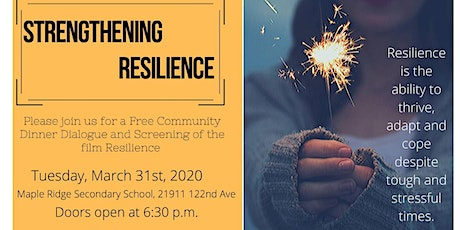 Strengthening Resilience tickets