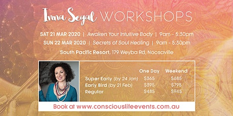 Secrets of Soul Healing  with Inna Segal tickets