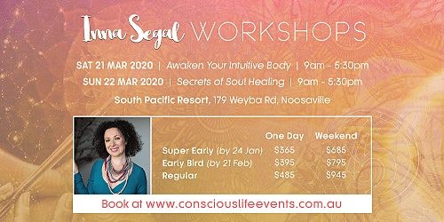 Secrets of Soul Healing  with Inna Segal