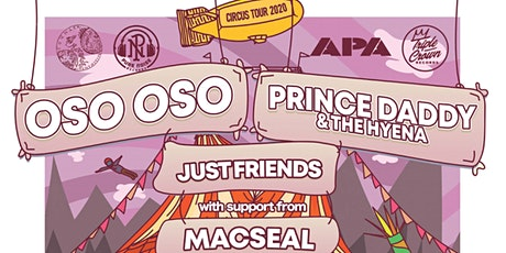 Oso Oso + Prince Daddy & The Hyena tickets