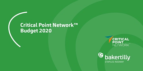 Budget 2020 | Critical Point Network™ tickets