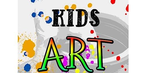 Kids Art Classes K-3rd Grade (02-17-2020 starts at 4:30 PM)