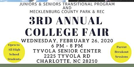3rd Annual College Fair - CIAA Week tickets