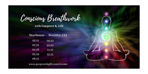 Conscious Breathwork for Healing and Awakening (Starhouse, Boulder, CO)