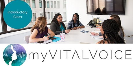 myVITALVOICE - Public Speaking for Women tickets