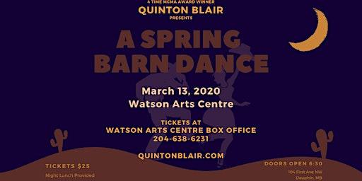 Quinton Blair's Spring Barn Dance