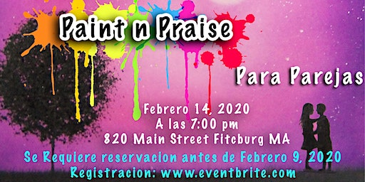 Paint and Praise Night for Couples