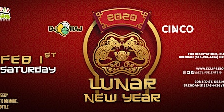 Lunar New Year at Voodoo Lounge with DJ RAJ and Cinco tickets