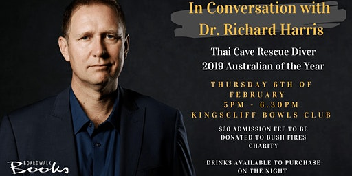In Conversation with Dr Richard 'Harry' Harris | Thai Cave Rescuer Diver