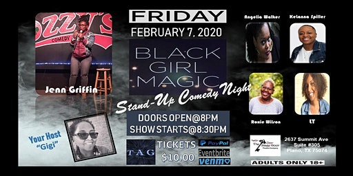 Black Girl Magic Stand-Up Comedy Show