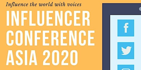 Influencer Conference Asia 2020 tickets