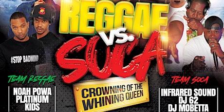 REGGAE VS SOCA BRONX EDITION tickets