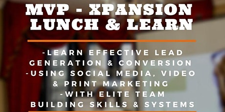 MVP - XPANSION Lunch & Learn Masterclass (Charlotte) tickets