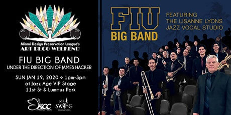 FIU Big Band ft James Hacker and Lisanne Lyons tickets