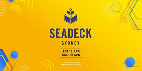 Seadeck Sunset Cruise - Sat 18th April tickets