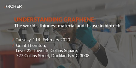 UNDERSTANDING GRAPHENE: The world's thinnest material & its use in biotech tickets