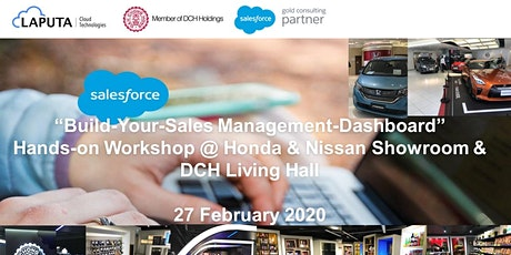 """Build-Your-Sales Management-Dashboard"" Hands-on Workshop (27 Feb 2020) tickets"