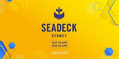 Seadeck Sunday Cruise - Sun 19th April tickets