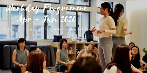 April 2020 - June 2020 Weekday 200-HOUR YOGA ALLIANCE ACCREDITED TEACHER TRAINING PROGRAMME