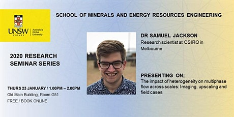 MERE Research Seminar Series, presents Dr Samuel Jackson tickets
