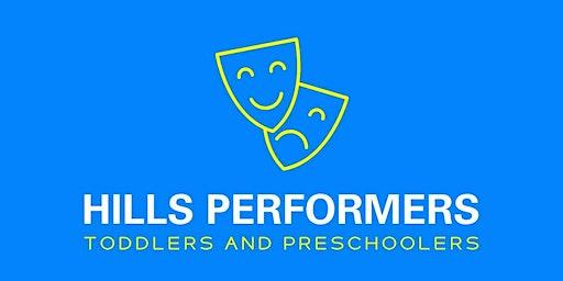 Hills Performers Preschool Drama Free Trial Class