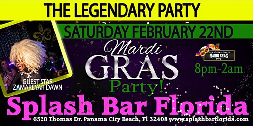 Mardi Gras 2020 Official Party