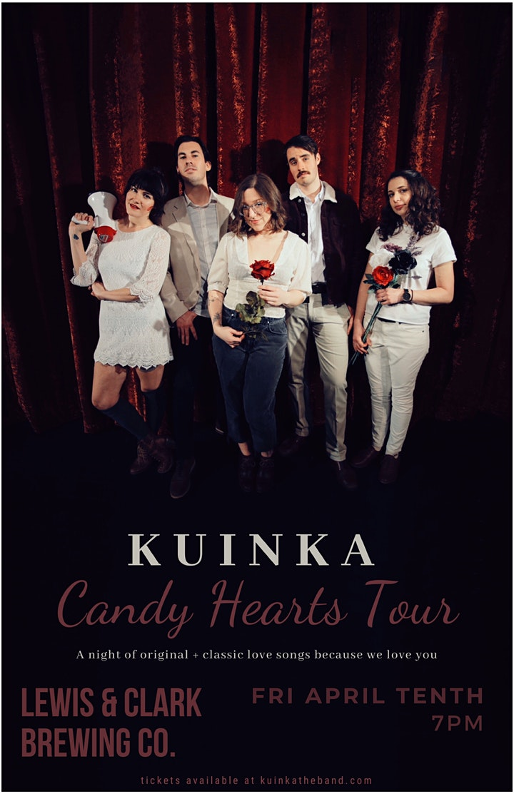 """KUINKA """"Candy Hearts Tour"""": a night of original music + classic love songs image"""