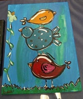 Acrylic & Mixed Media Art Class for ages 7-15-202002024