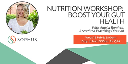 Nutrition Workshop: Boost Your Gut Health