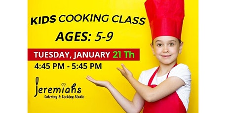 PUBLIC EVENT: Kids Cooking Class With Chef T (01-21-2020 starts at 4:45 PM) tickets