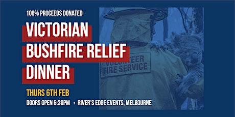 Victorian Bushfire Community Fundraiser Dinner tickets