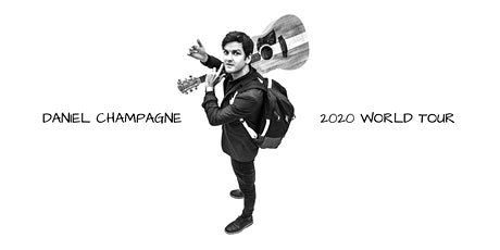 Bowral - Daniel Champagne 2020 World Tour LIVE at T Guitars tickets